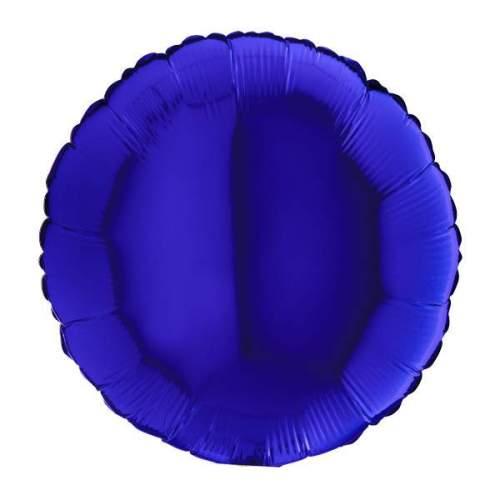 """Μπαλόνι μπλε στρογγυλό 18"""""""