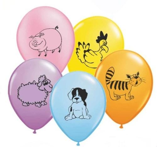 Μπαλόνι τυπωμένο κατοικίδια Ζωάκια