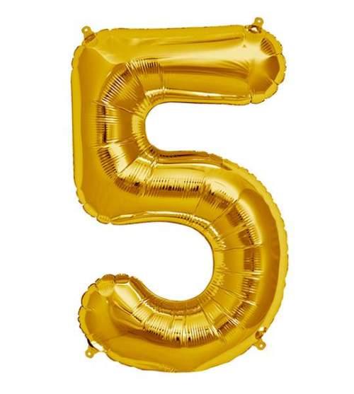 Μπαλόνι 40 εκ Χρυσό Αριθμός 5