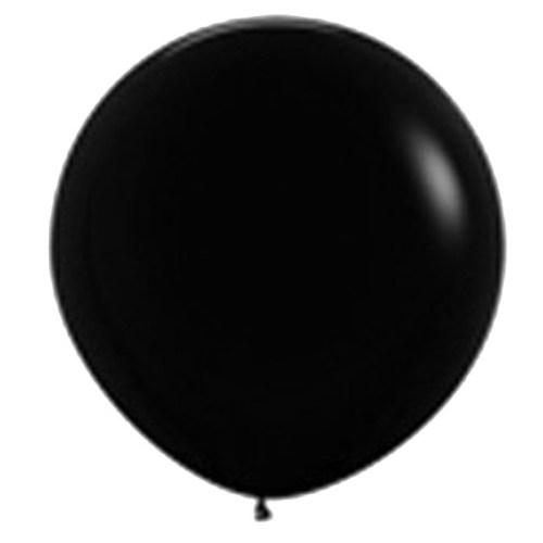 90cm - 36'' Μάυρο μεγάλο μπαλόνι