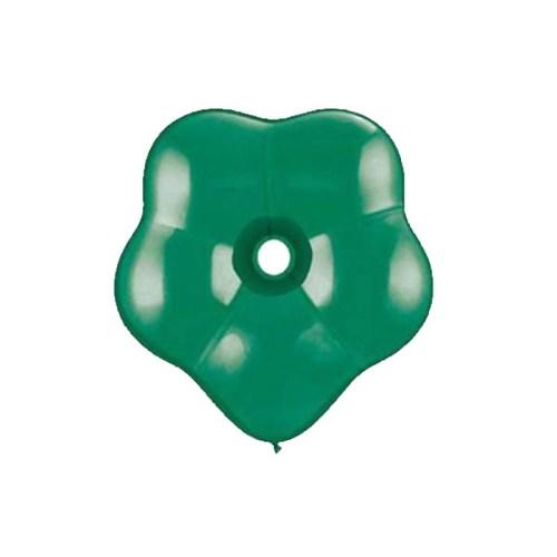 """6"""" Μπαλόνι λουλούδι emerald πράσινο"""