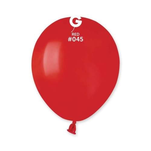 """5"""" Κόκκινο λάτεξ μπαλόνι"""