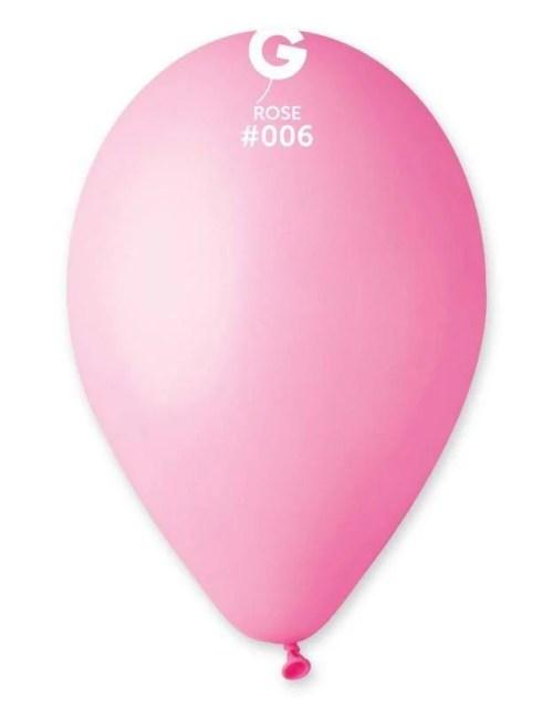 12'' Ροζέ λάτεξ μπαλόνι