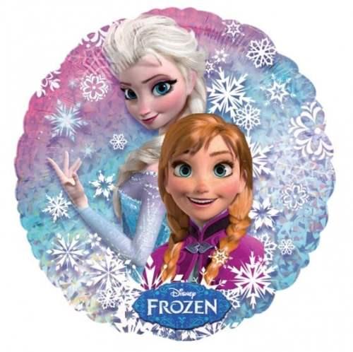 Μπαλόνι Frozen Elsa & Anna που λαμπιριζει