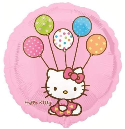 Μπαλόνι Hello Kitty με μπαλόνια