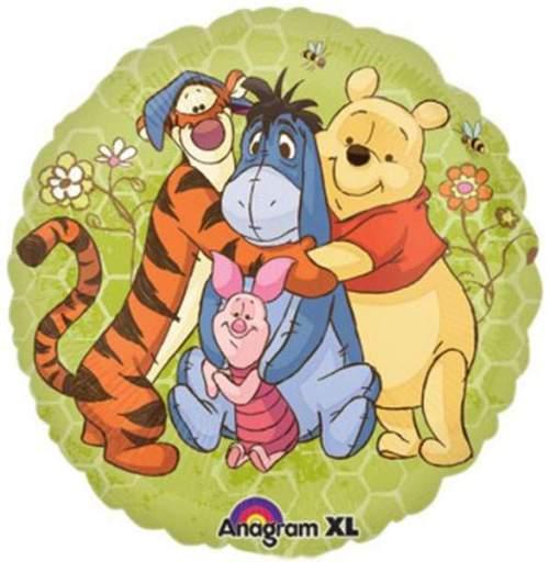 Μπαλόνι Winnie the pooh & φίλοι στρογγυλό