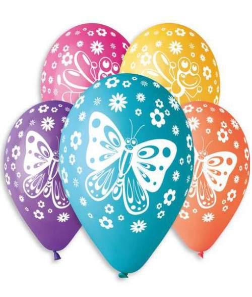 Μπαλόνι τυπωμένο Πεταλούδες