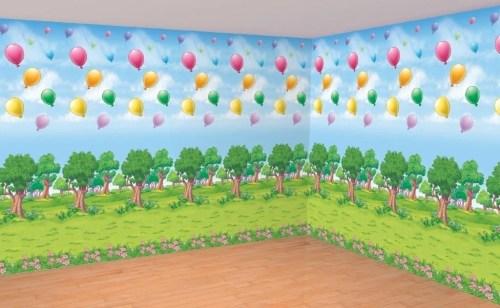Ταπετσαρία τοίχου Winnie the Pooh Δάσος (2 τεμ) 7,62 μ