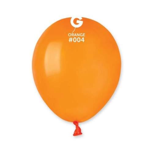 5'' Πορτοκαλί λάτεξ μπαλόνι