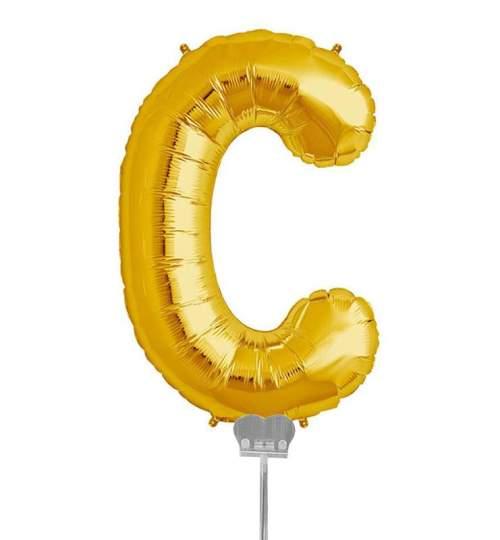 Μπαλονι 40 εκ Χρυσό Γράμμα C