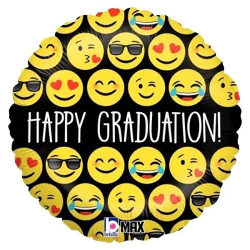 Μπαλόνι για αποφοίτηση 'Happy Graduation' φατσούλες