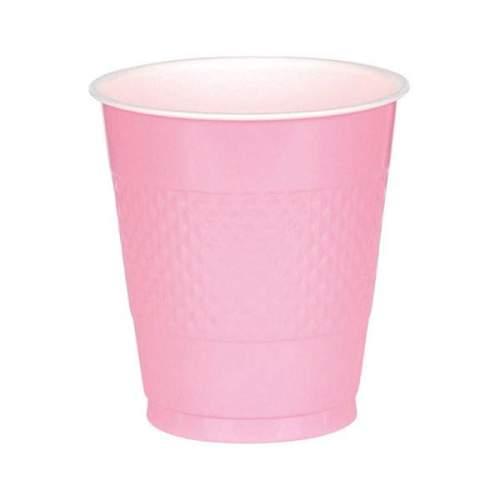 Ποτήρια πάρτυ πλαστικά ροζ (10 τεμ)