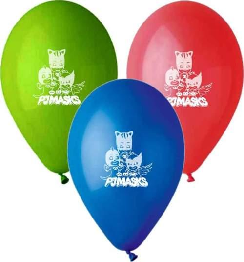"""12"""" Μπαλόνι τυπωμένο Pj Masks"""
