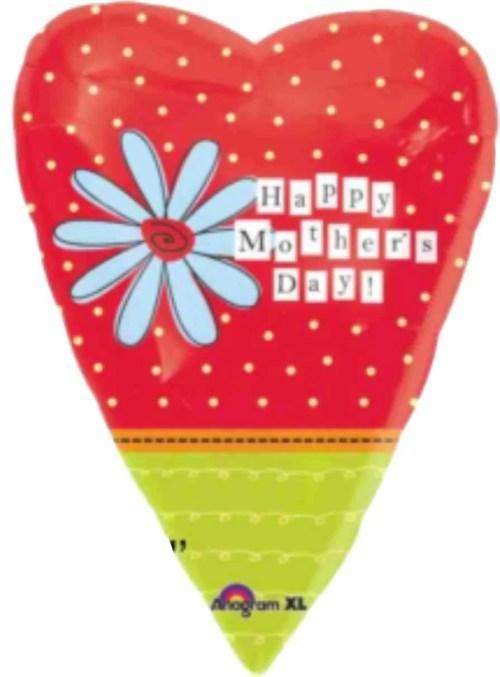 Μπαλόνι καρδιά ''Happy Mother's Day''