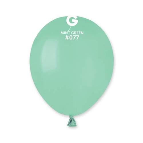 5'' Μέντα λάτεξ μπαλόνι