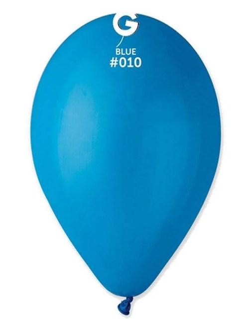 12'' Μπλε λάτεξ μπαλόνι