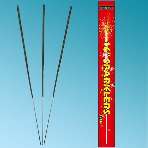 """16"""" Ιριδίζοντα Sticks Sparklers (10 τεμ)"""