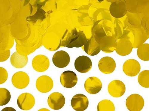 Κομφετί Χρυσό μεταλλικό