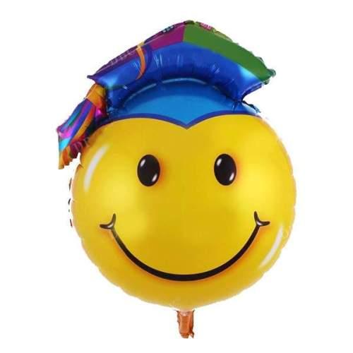 Μπαλόνι για αποφοίτηση φατσούλα με καπέλο
