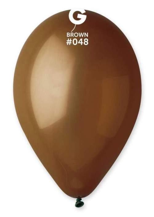 """13"""" Καφέ λάτεξ μπαλόνι"""