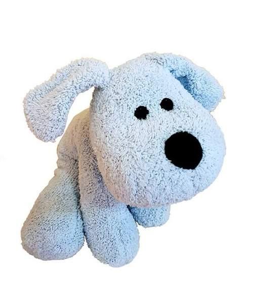 Χνουδωτό μαλακό γαλάζιο Σκυλάκι