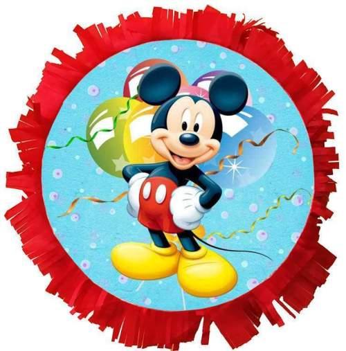 Χειροποίητη μεγάλη Πινιάτα πάρτυ Mickey Mouse