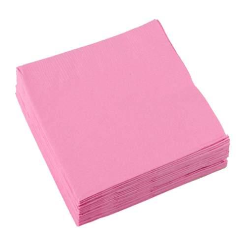 Χαρτοπετσέτες μικρές Ροζ (20 τεμ)