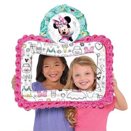 Μπαλόνι Κορνίζα για selfie Minnie Mouse