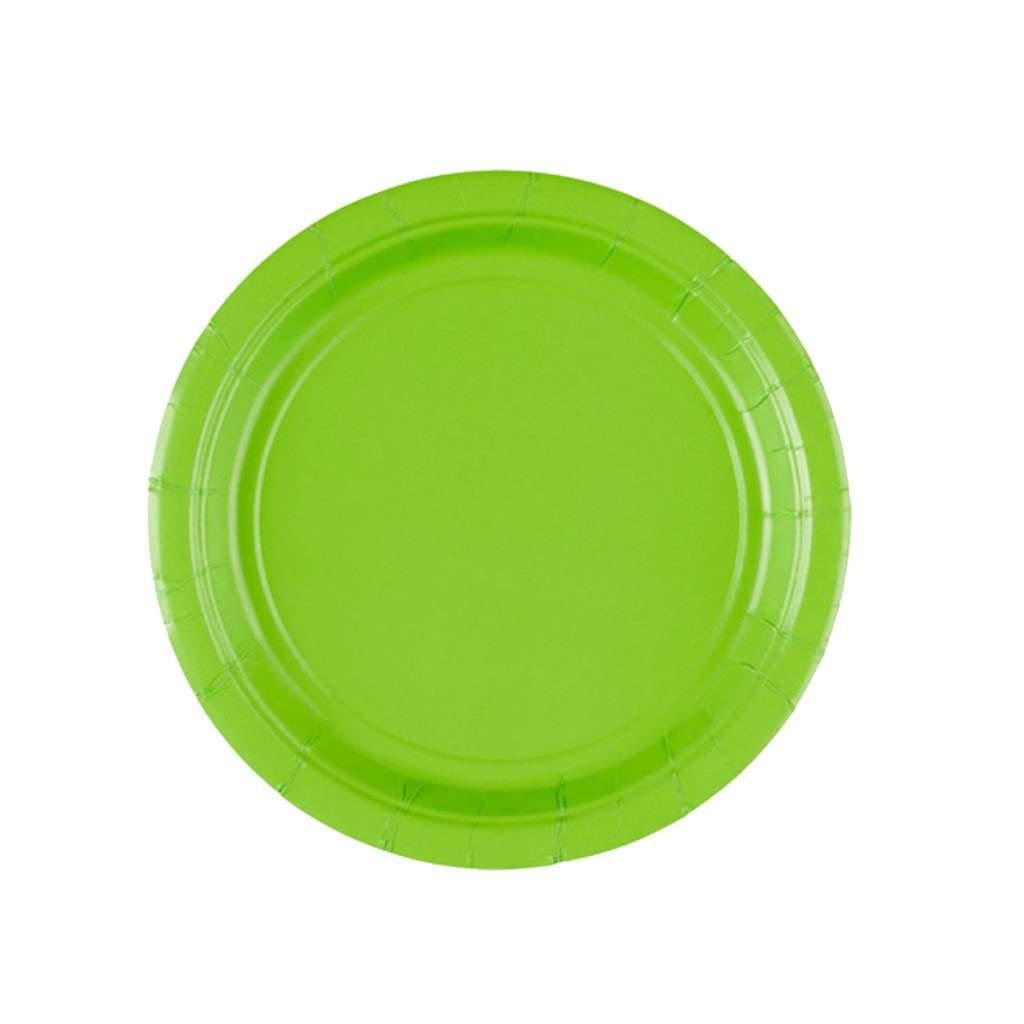 Πιάτα πάρτυ μικρά kiwi (8 τεμ)