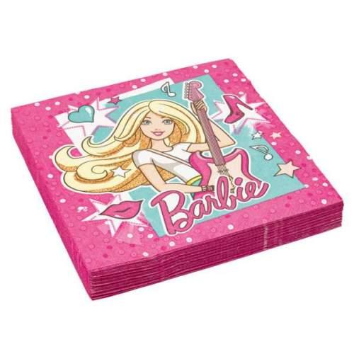Χαρτοπετσέτες Barbie Popstar (20 τεμ)