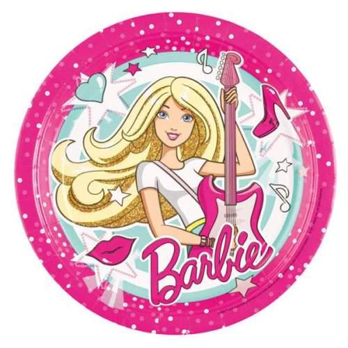 Πιάτα Barbie Popstar (8 τεμ)