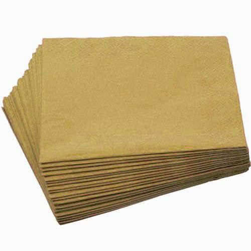 Χαρτοπετσέτες Χρυσές (20 τεμ)
