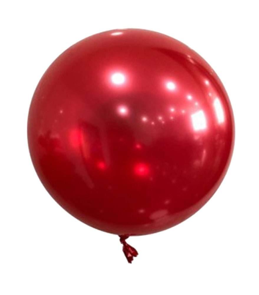 Μπαλόνι Chrome κόκκινη σφαίρα 22″
