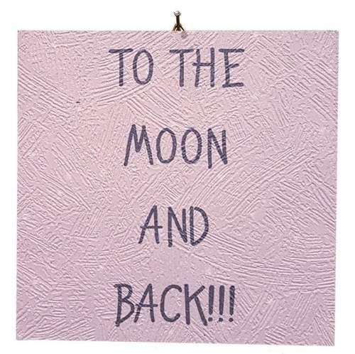 Καδράκι Βάπτισης To the moon and back