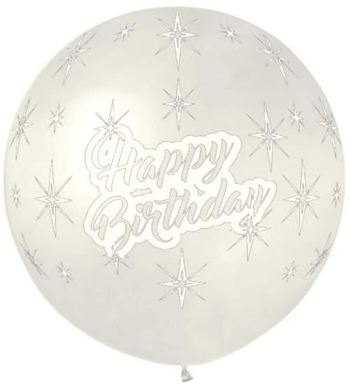 Τεράστιο μπαλόνι τυπωμένο Happy Birthday