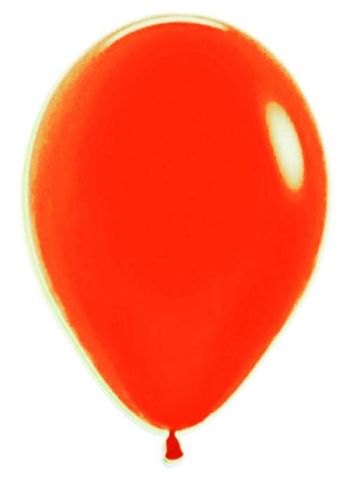 12'' Neon Πορτοκαλί λάτεξ μπαλόνι