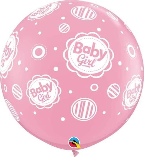 Τεράστιο μπαλόνι τυπωμένο Baby Girl