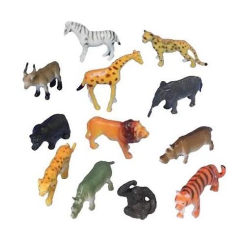 Σετ παιχνιδιών Ζωάκια της Ζούγκλας (12 Τεμ)
