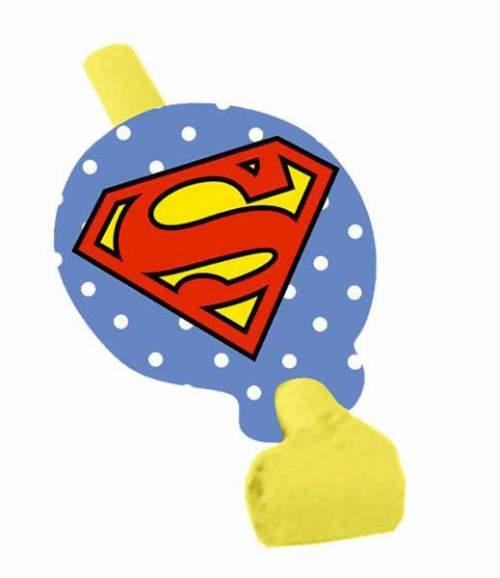 Blowouts xάρτινα Superman (8 τεμ)