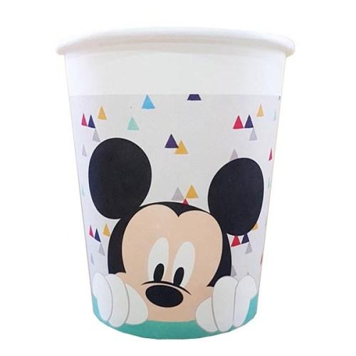 Ποτήρια πάρτυ Mickey Mouse (8 τεμ)