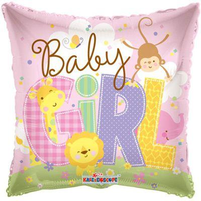 Μπαλόνι γέννησης Baby Girl Ζωάκια