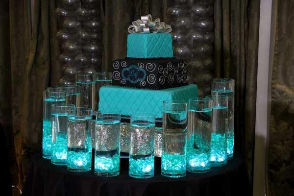 Sweet 16 Candle Lighting Displays
