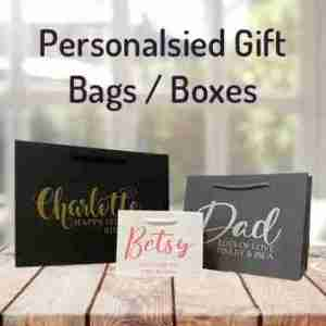 Personalsied Gift Bags/Boxes