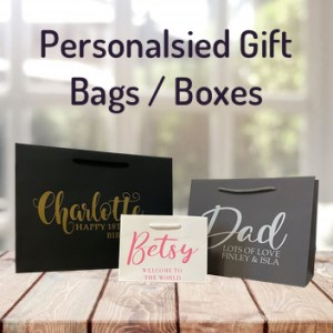 Personalsied Gift Bags