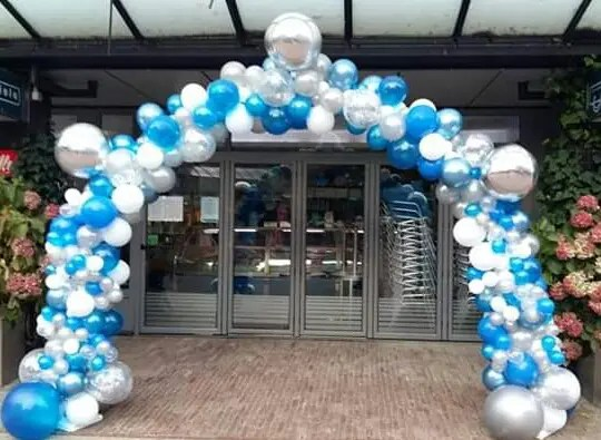 Organische ballonnenboog | Organic balloon arch 1