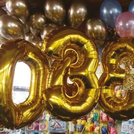 Folie Ballonnen 1