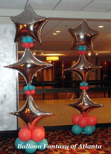 Columns  BIG Balloons  Balloon Fantasy of Atlanta