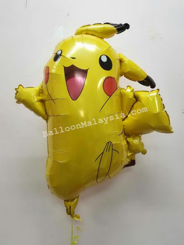 Anagram 245 x 31 inch Pikachu Pokemon Foil Balloon  from category Character Balloons