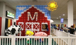 Balloon Barn, State Fair of Maryland, by Balloonopolis, Columbia, SC