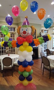 Custom Balloon Sculpure - Clown - Balloonopolis, Columbia, SC